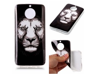 Силиконов Гръб за  Motorola Moto G5S - Lion