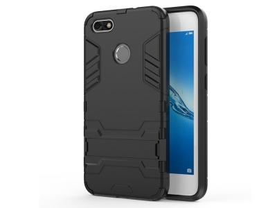 Удароустойчив Калъф с Поставка за Huawei P9 lite mini / Enjoy 7 / Y6 Pro (2017), Черен