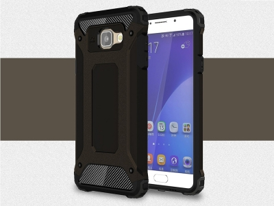 Удароустойчив калъф гръб Armor за Samsung Galaxy A5 2016 SM-A510F, Черен