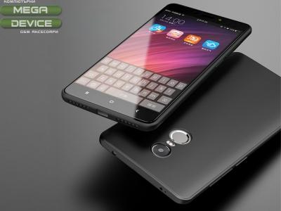 Ултра Тънък Силиконов Гръб 0.4mm  CAFELE за Xiaomi Redmi Note 4X , Черен