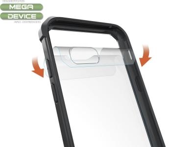 Пластмасов гръб със силиконова лайсна Samsung Galaxy A5 2017 SM-A520F, Черен