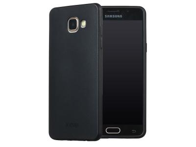 Силиконов матиран гръб X-LEVEL за Samsung Galaxy A5 2016 SM-A510F , Черен