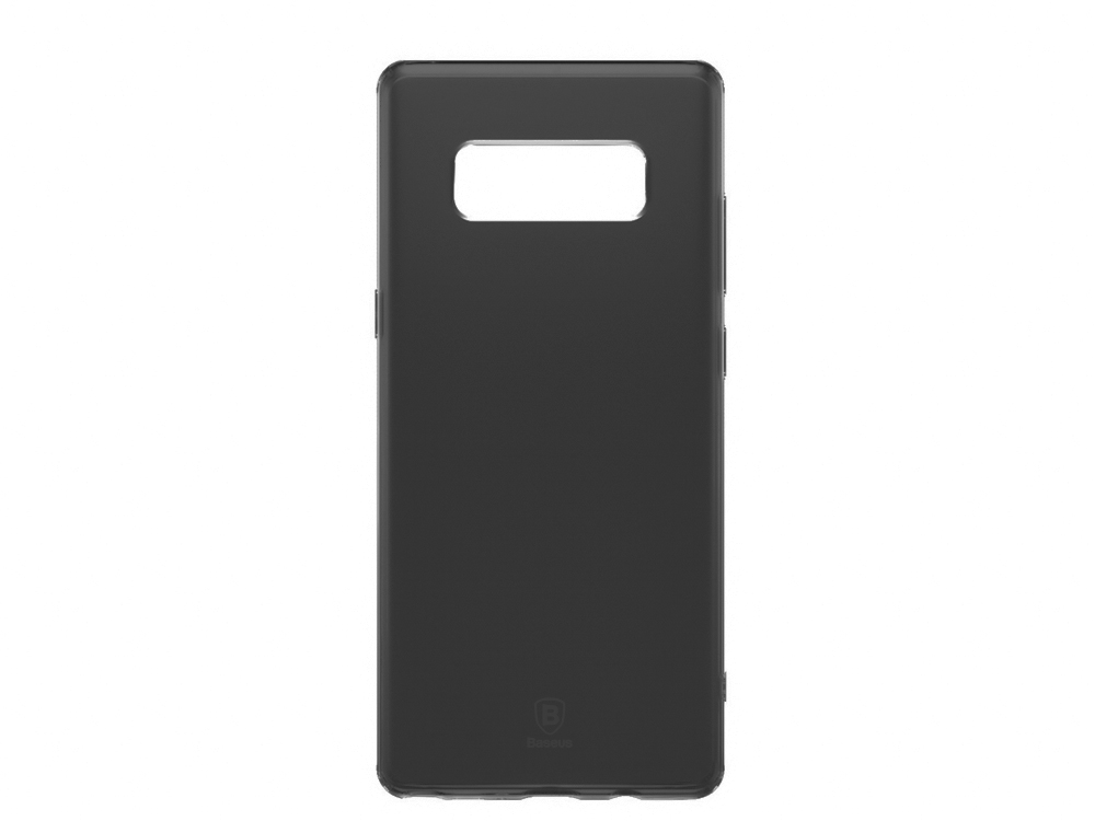 Прозрачен силиконов гръб BASEUS  за Samsung Galaxy Note 8 2017 N950 ,Черен