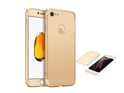 Ултра Тънък Пластмасов Протектор FULL iPhone 7 4.7inc / IPhone 8/ iPhone SE 2020 , Златист