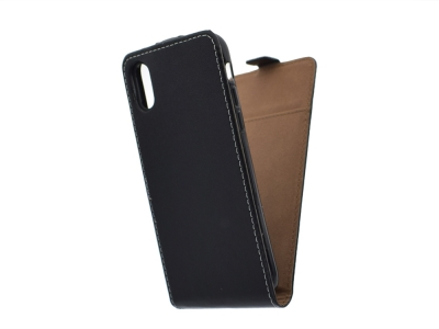Калъф Тефтер Slim Flexy за iPhone X / 10 , Черен