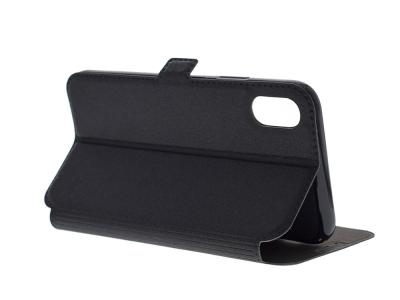 Тефтер странично отваряне  BOOK POCKET за IPhone X / 10 , Черен