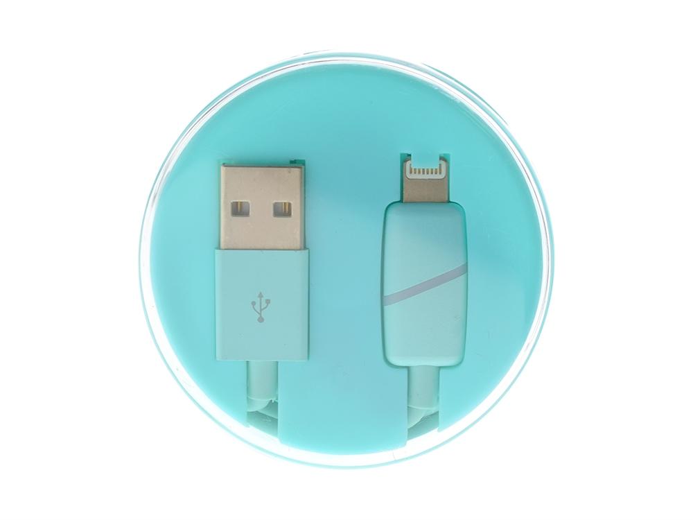 USB кабел iPhone 5/5S/5SE/5C/6/6PLUS/6S/7/7PLUS BOX Ring Mint