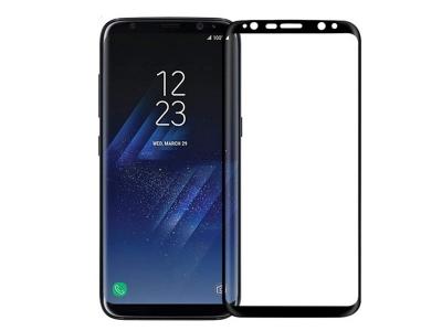 Стъклен Протектор NILLKIN 3D CP+MAX Curved за Samsung Galaxy S8 Plus 2017 (G955) , Черен