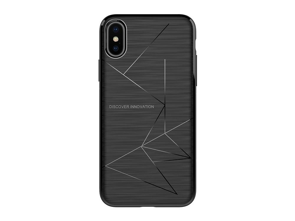 Силиконов магнитен гръб Nillkin Magic за iPhone X / 10 , Черен