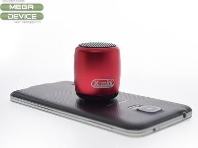 X-mini CLICK Bluetooth Преносима колонка със селфи бутон ,Червена