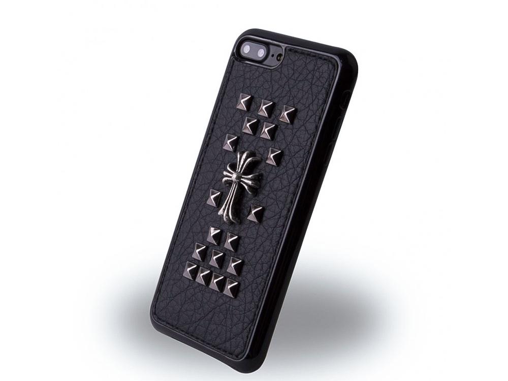 Силиконов гръб UreParts за iPhone 7 Plus / iPhone 8 Plus, Черен