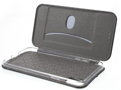 Калъф Тефтер ELEGANCE за iPhone X 5.8 inch , Черен