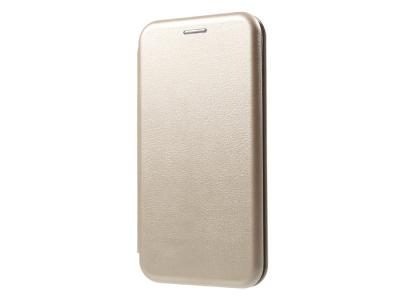 Калъф Тефтер ELEGANCE за iPhone X 5.8 inch, Златист
