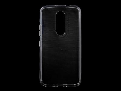 Силиконов гръб за  Motorola Moto M XT1663, Прозррачен