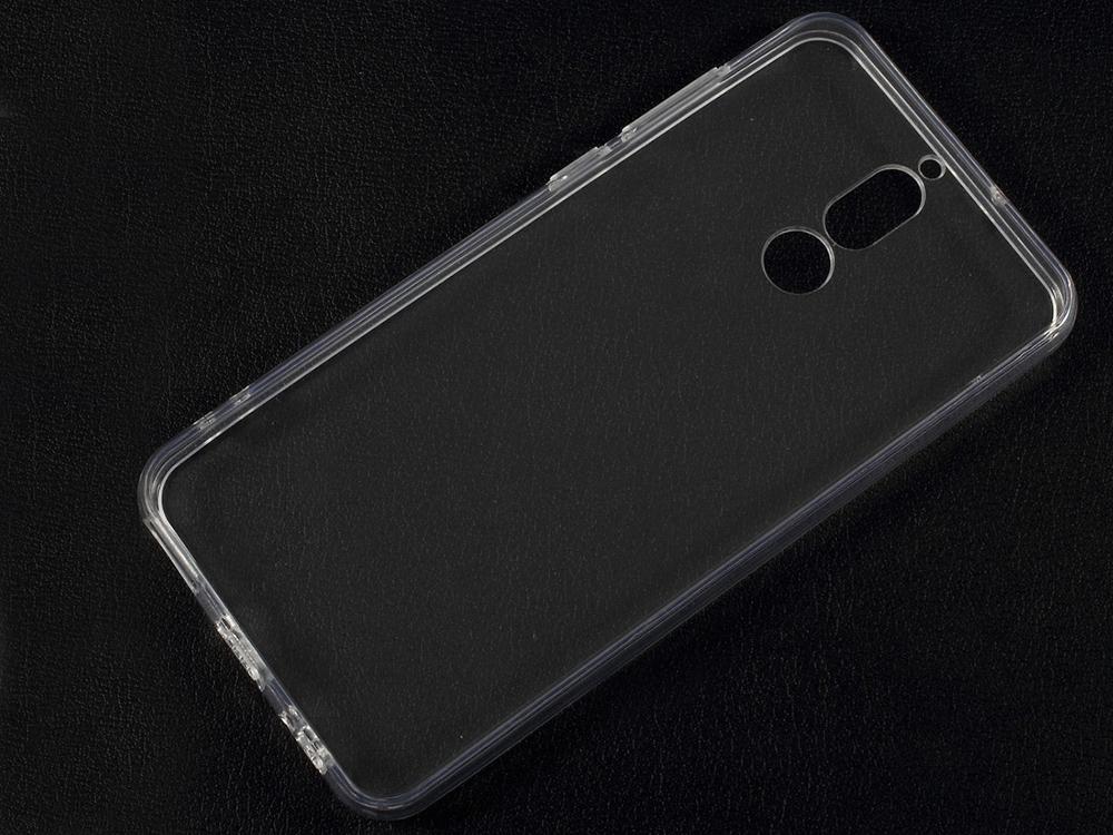 Пластмасов гръб със силиконова лайсна за  Huawei Mate 10 Lite / nova 2i / Maimang 6, Прозрачен
