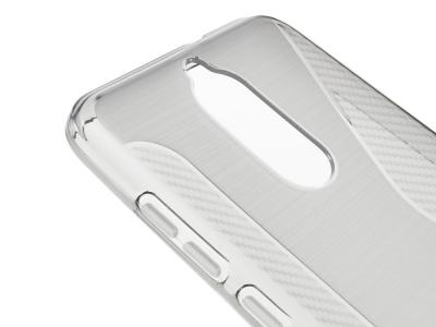 Силиконов Калъф Carbon за Huawei Mate 10 Lite/Maimang 6/nova 2i , Прозрачен