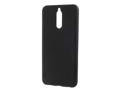 Силиконов матиран гръб за Huawei Mate 10 Lite/Maimang 6/nova 2i , Черен