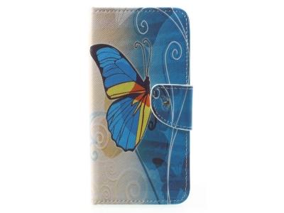 Калъф Тефтер Book Huawei Mate 10 Lite / nova 2i / Maimang 6  - Blue Butterfly