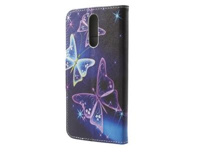 Калъф Тефтер Book Huawei Mate 10 Lite / nova 2i / Maimang 6  - Butterflies Pattern