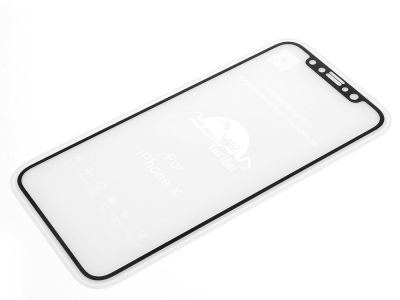Стъклен протектор RURIHAI 0.1MM FULL за iPhone X / 10 5.8 inch, Черен