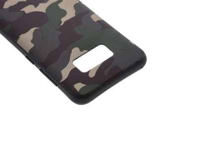 Силиконов Гръб MORO Камуфлаж за Samsung Galaxy S8 Plus 2017 G955, Зелен