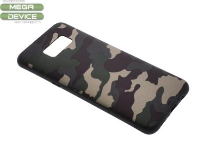 Силиконов Гръб MORO Камуфлаж за Samsung Galaxy S8 2017 G950, Зелен