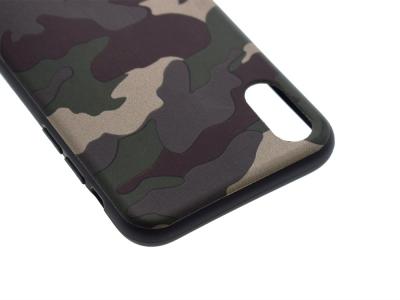 Силиконов Гръб MORO Камуфлаж за Iphone X, Зелен