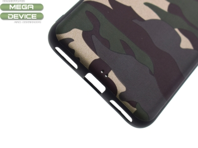 Силиконов Гръб MORO Камуфлаж за Huawei P9 Lite Mini / Enjoy 7 / Y6 Pro (2017), Зелен