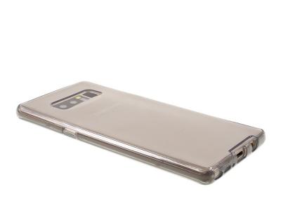 360 градуса силиконов калъф за  Samsung Galaxy Note 8 2017 N950 ,Сив