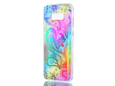 Цветен Силиконов калъф за Samsung Galaxy S8 Plus 2017 G955 - Paisely