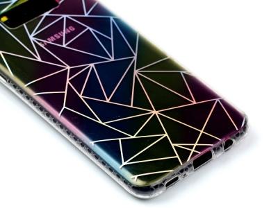 Цветен Силиконов калъф за Samsung Galaxy S8 Plus 2017 G955 - Triangulars