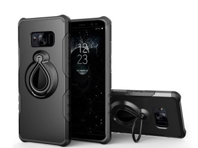 Удароустойчив калъф Raindrop за Samsung Galaxy S8 PLUS 2017 G955, Черен