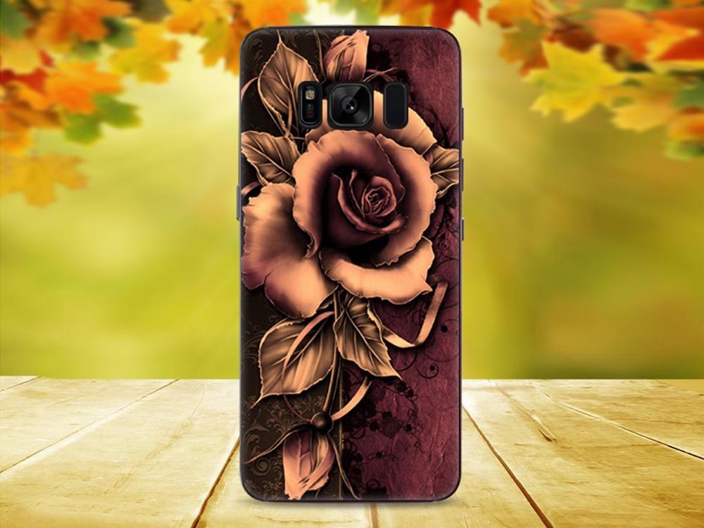 Силиконов гръб за Samsung Galaxy S8 Plus 2017, Роза