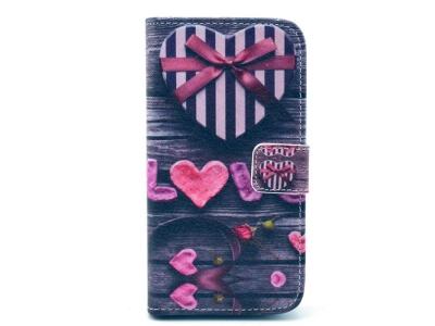 Калъф тефтер за Samsung Galaxy S3 2014 I9300 - LOVE Gift Box