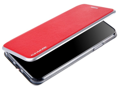 Калъф Тефтер CMAI2 за iPhone X / 10, Червен