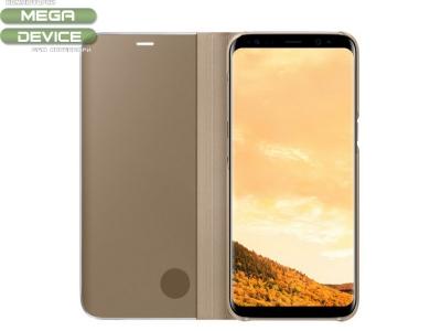 Оригинален тефтер за  Samsung G950 GALAXY S8 (ef-zg950cfe) , Златист