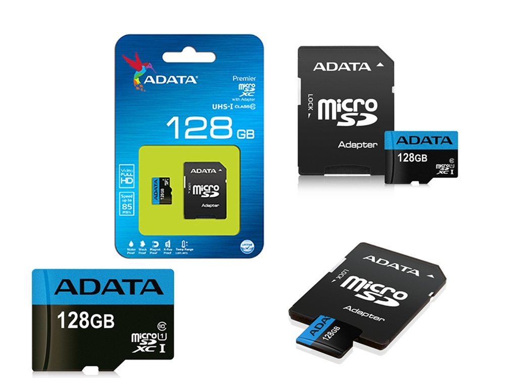 128GB SDXCM+A USH-I CL10 85ADA
