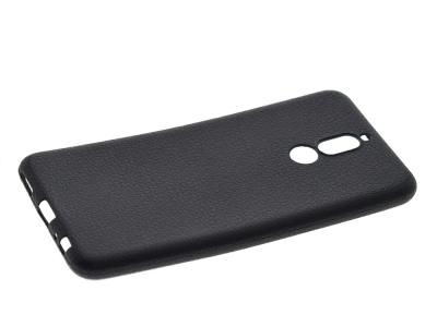 Силиконов матиран гръб Forcell Lizard за Huawei Mate 10 Lite , Черен