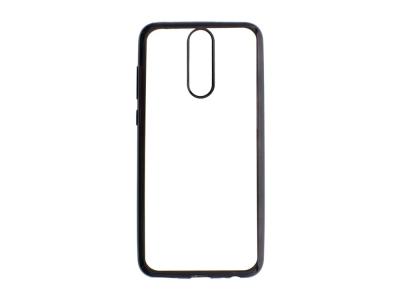 Силиконов гръб с лайсна  CLEAR за Huawei Mate 10 Lite , Черен