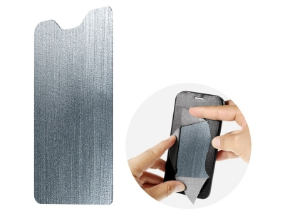 Калъф тефтер Bi-color Cross за Nokia 2 , Черен