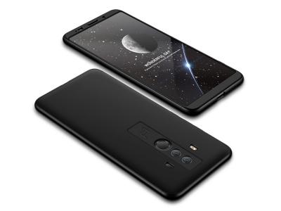 Пластмасов гръб FULL за Huawei Mate 10 Pro , Черен