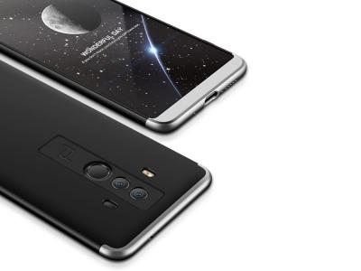 Ултра Тънък PVC Case FULL Huawei Mate 10 Pro , Черен/Сив