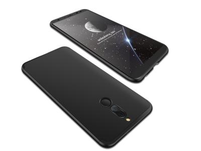 Пластмасов протектор FULL за Huawei Mate 10 Lite / Maimang 6 / nova 2i / Honor 9i , Черен
