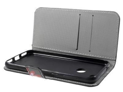Калъф Тефтер Leather Stand Wallet за Huawei P9 lite mini / Enjoy 7 / Y6 Pro (2017) , Цветя и Пеперуди