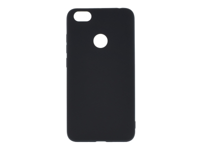 Силиконов матиран гръб SOFT за Xiaomi Redmi NOTE 5A Prime, Черен