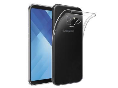 Силиконов гръб за Samsung Galaxy A5 2018 / A8 2018 (A530F) Transparent Relef