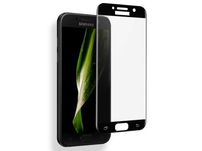 Стъклен Протектор Full  5D Curved за Samsung Galaxy A5 (2017) A520, Черен