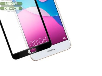 Стъклен протектор 3D Full Curved за Huawei P9 Lite Mini , Черен