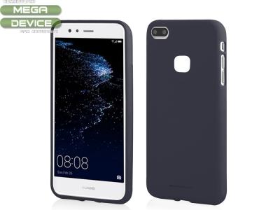 Силиконов матиран гръб Mercury за Huawei P10 Lite, Тъмно Син
