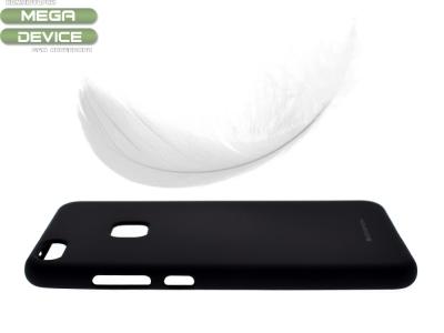 Силиконов матиран гръб Mercury за Huawei P10 Lite, Черен